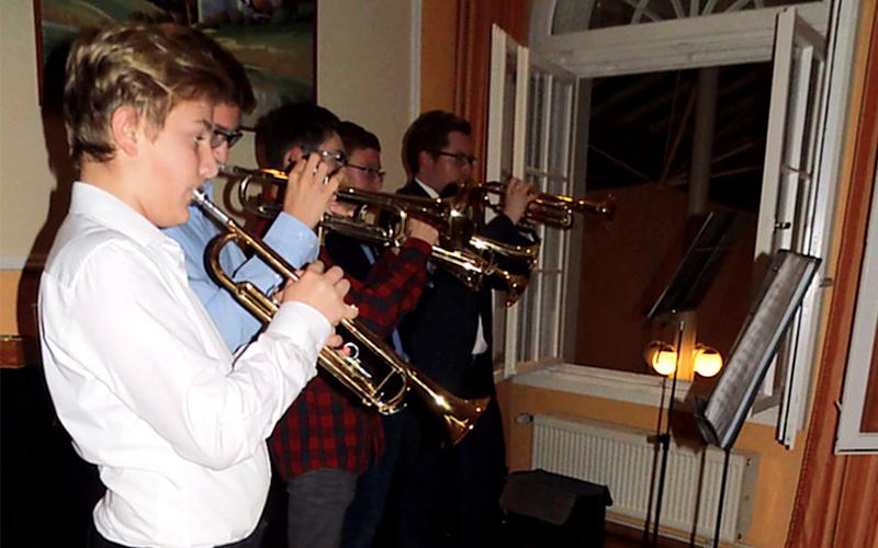 Trompetenensemble der Kreismusikschule